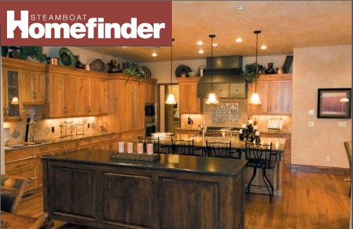 Steamboat Homefinder Magazine - Finial and Traci Clark